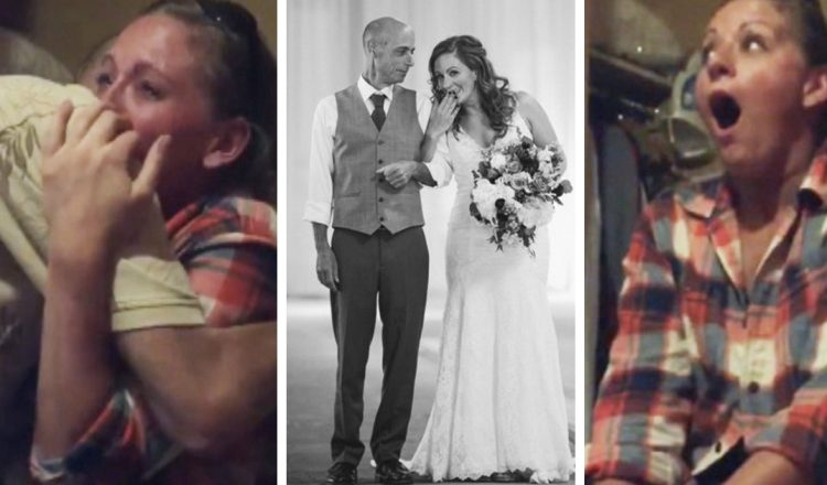 Late Father's Best Friend Walks Bride-To-Be Down The Aisle _ allyson eichens _ everything inspirational