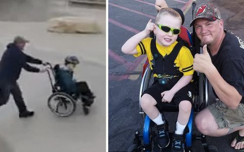 Dad Takes Disabled Son To Skate Park And They Have A Ball _ callen van rise _ everything inspirational