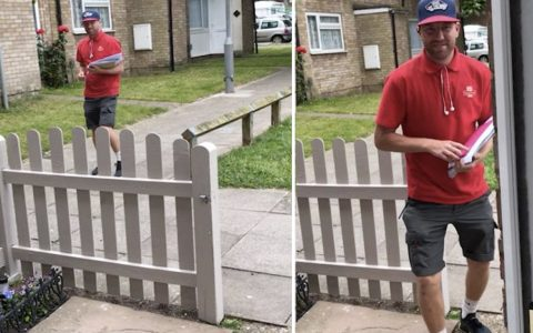 Mom Recorded Her Dancing Mailman And It Went Viral _ james bailey _ everything inspirational