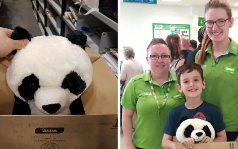 everything inspirational - note toy panda -1