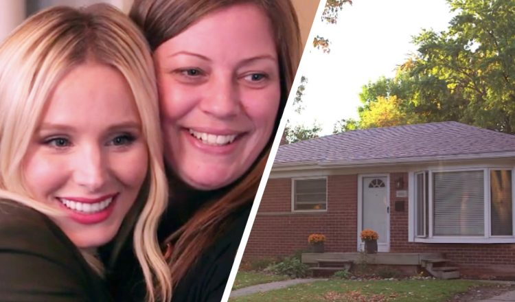 everything inspirational - kristen bell hollywood star sister home makeover