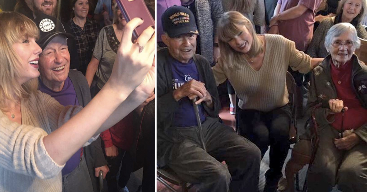 9 Kindly Celebrities Who Know How To Treat Their Fans _ taylor swift _ everything inspirational