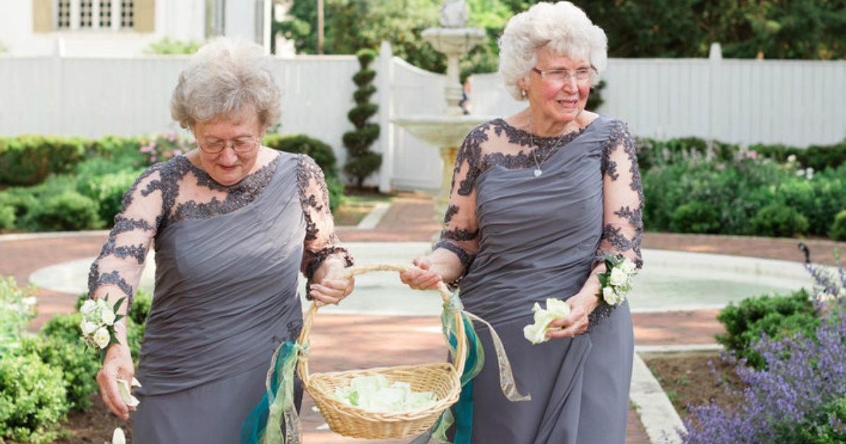 Grandmas Said 'Yes' to being in the Wedding Party Together_ everything inspirational