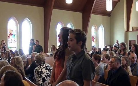 Music Students Surprise Wedding With Flash Mob of 'Going To The Chapel' _ everything inspirational