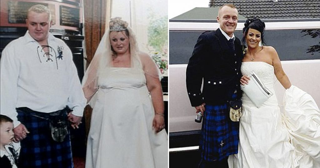 Wedding Weight Lose.Couple Has A Second Wedding After Extreme Weight Loss