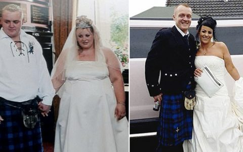 Couple Redid Their Wedding After Extreme Weight Loss _ everything inspirational