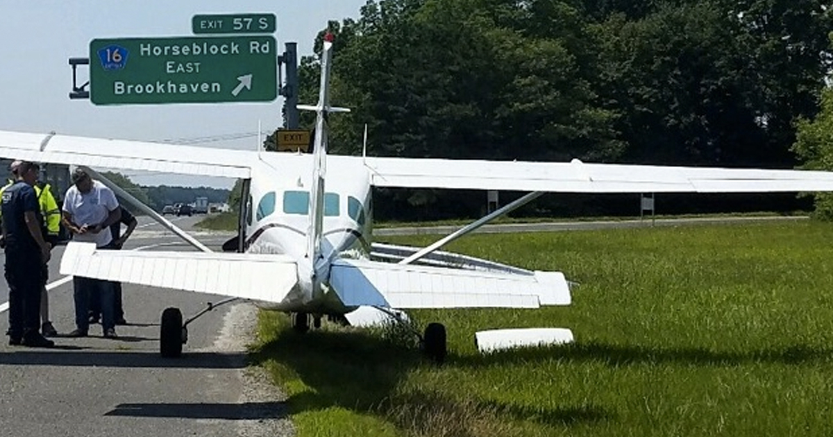 Pilot Makes Emergency Landing In The Middle Of Highway _ Everything inspirational