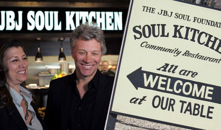 Celebrity Musician Opens 'Soul Kitchen' To Fight Community Hunger _ bon jovi _ everything inspirational