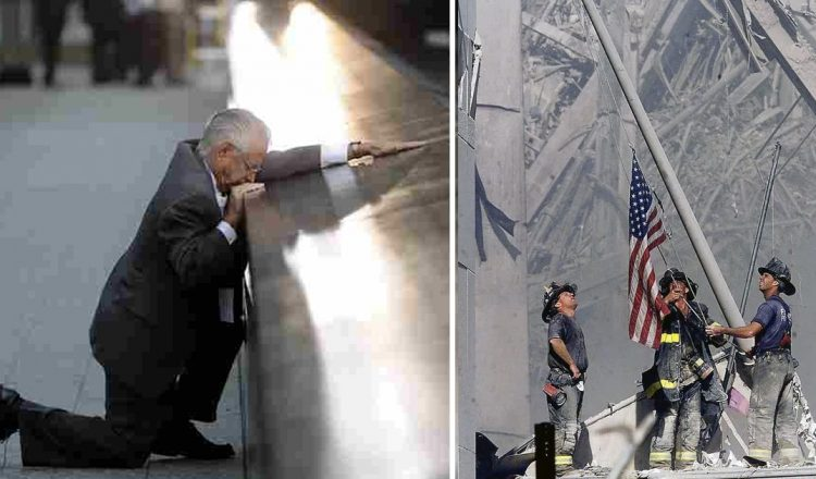 Touching 9/11 Photo Tribute With 'Amazing Grace' Reminds Us To Love _ everything inspirational