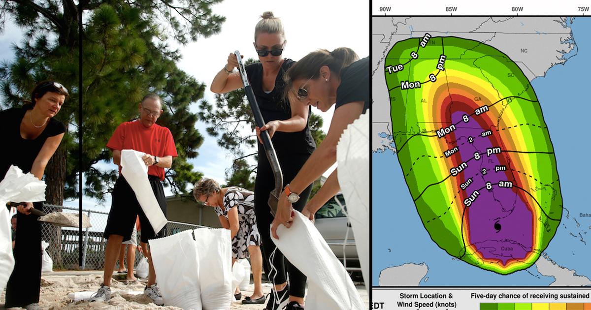 Hurricane Irma Strangers Help Others _ Everything Inspirational