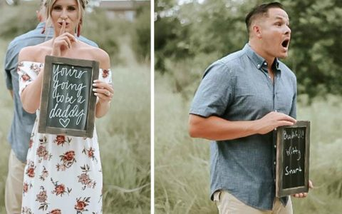 surprise pregnancy reveal _ everything inspirational