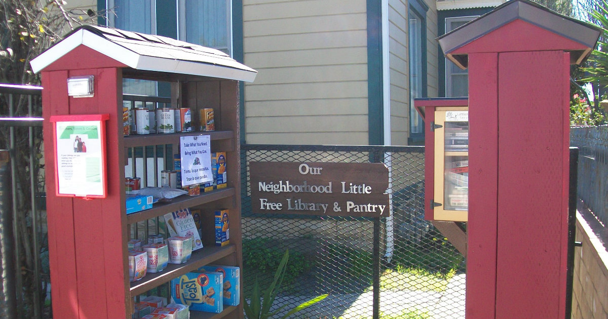 Little Free Pantry Is Curbing Hunger In Local Communities _ everything inspirational