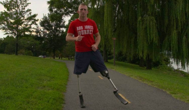 Marine With Amputated Legs Is Running 31 Marathons In 31 Days_ everything inspirational