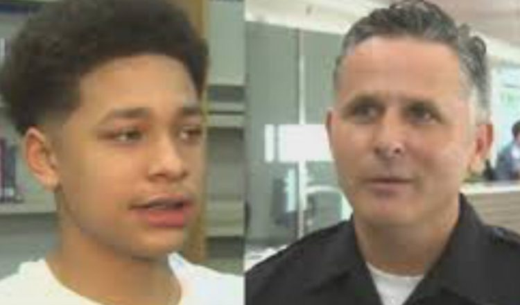Police Officer Gifts Trespassing Teen With Gym Membership_ everything inspirational